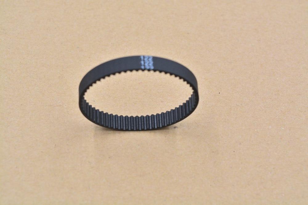 3d printer belt closed loop rubber pitch 2mm timing belt teeth 61 length 122mm width 6mm1pcs