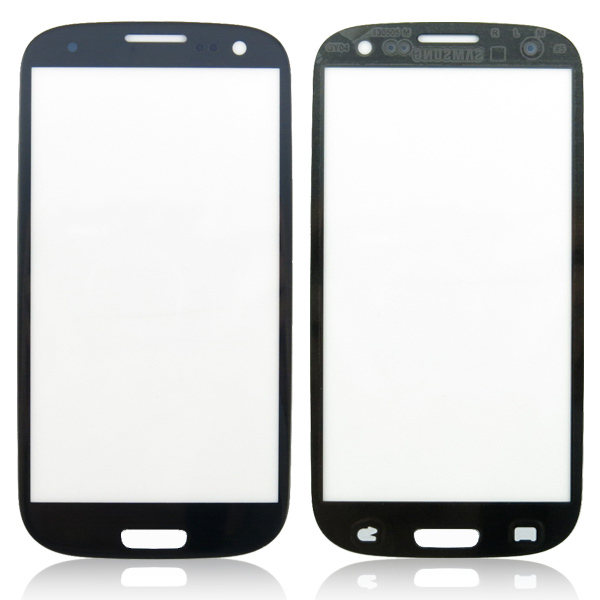 Glass lens Replacement For Samsung S3 New LCD Digitizer Touch Screen Wire-Drawing Blue for Samsung Galaxy S3 i9300