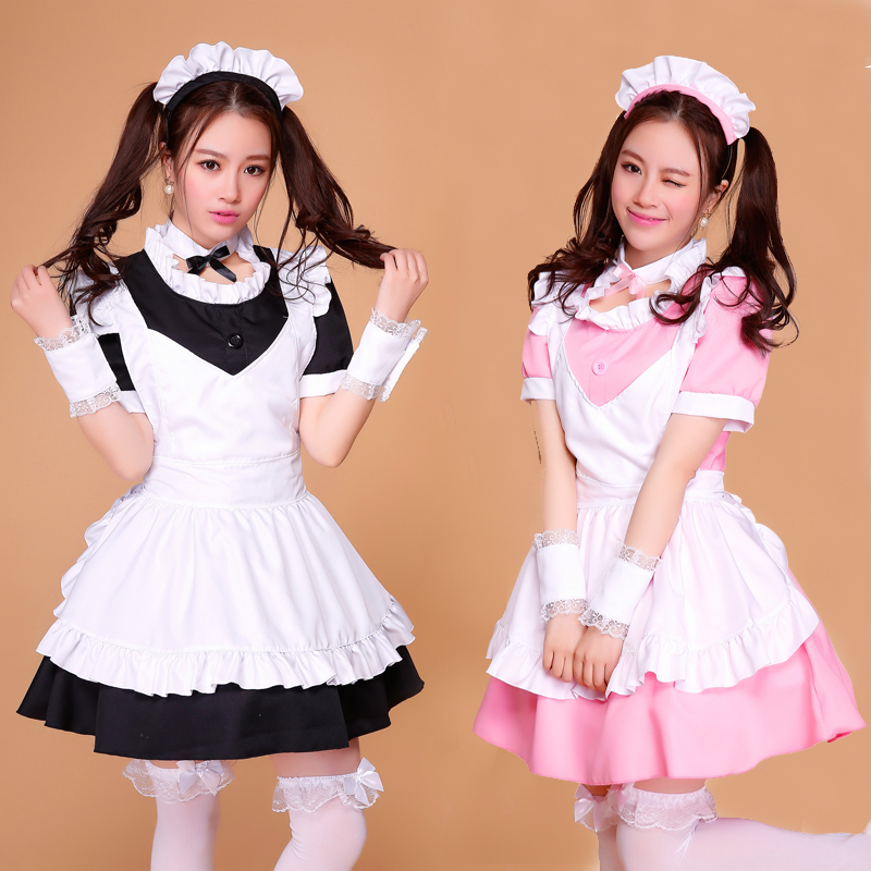 La mignonne nouvelle conception robe Lolita japonaise Costume Cosplay la femme de chambre Lolita tenue dessin animé princesse Lolita filles robe quotidienne costumes