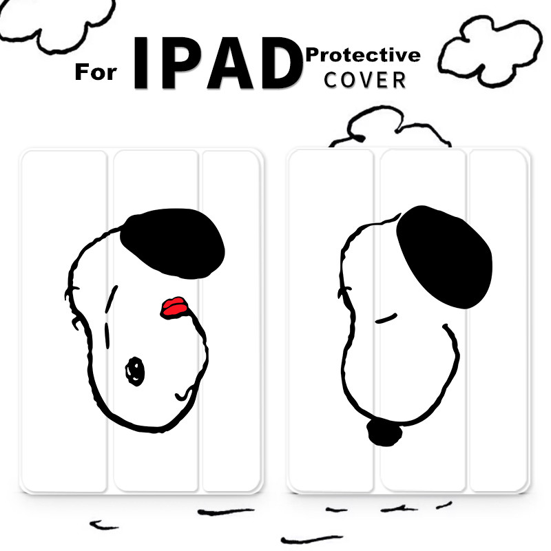 Dog Magnet Flip Cover For iPad Pro 9.7 11 air 10.5 10.2 7th 12.9 Mini2 3 4 5 2019 Tablet Case cover for New iPad 9.7 2017 2018