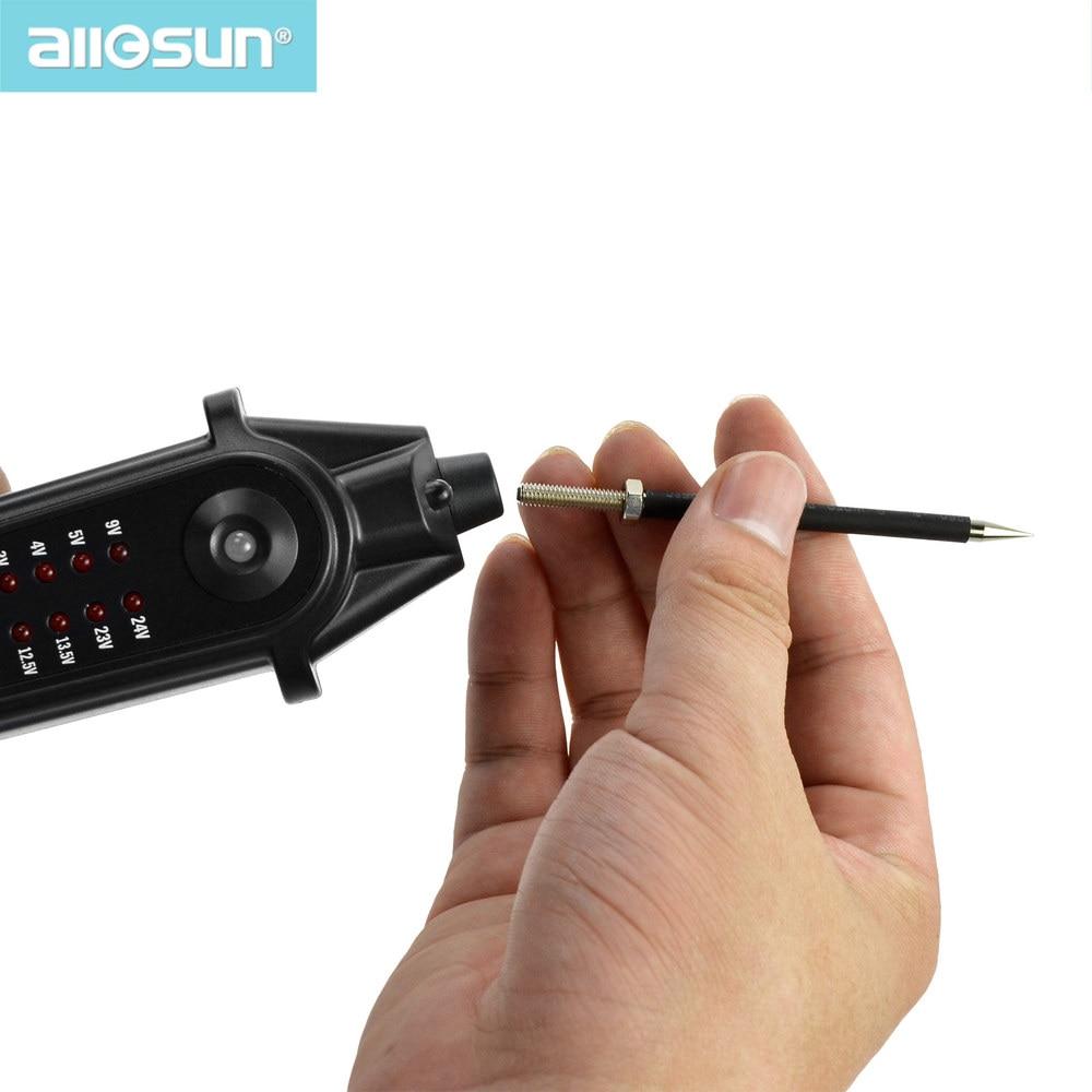 Automobilių grandinių testerių elektros sistemos voltmetras - Matavimo prietaisai - Nuotrauka 3