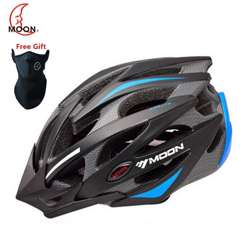 MTB Bike Cycling Helmet Ultralight Capacete Casco Ciclismo Para Bicicleta Women Men Road Cycling Bicycle Helmet Visor CE цена