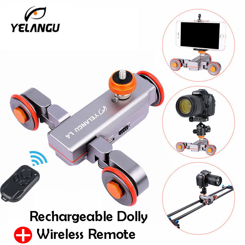 Autodolly Pro II Wireless Remote Motorized Electric Track Slider Dolly Car 3-Wheel Video Pulley Rolling Skater for DSLR Camera flexible electric dolly 3 wheel pulley car rail rolling track slider skater dolly for dslr camera camcorder smart phone max 6kg