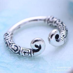 Image 3 - KJJEAXCMY fijne sieraden 925 Sterling zilveren sieraden herstellen oude manieren taiyin de heilige hoepel magic vrouwelijke stijl ring