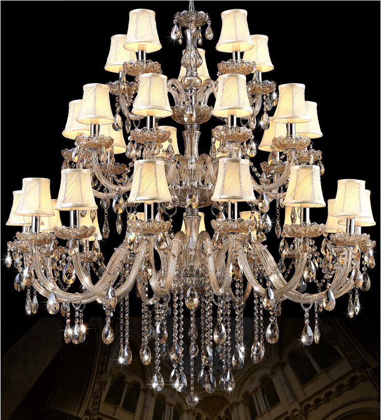Free Shipping 30L D1200mm Crystal Lamps Modern Crystal