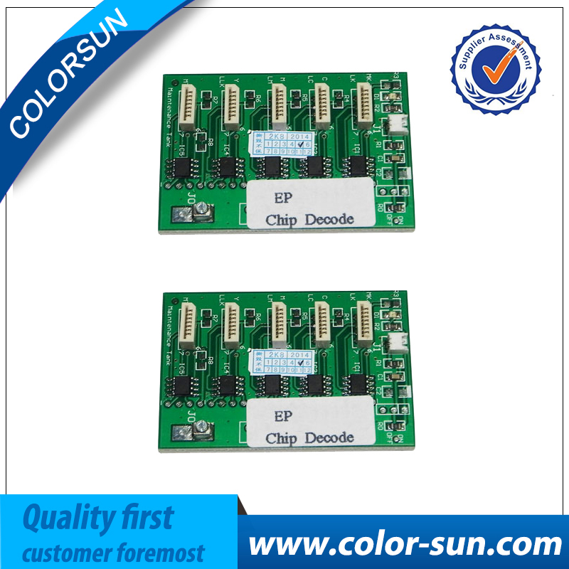 New Decoder Card for Epson Stylus Pro 4880 7880 9880 7450 9450 Printer Chip Decoder original new dx5 cap top station for epson stylus pro 7400 7450 7800 7880 9450 9800 9880 inkjet printer ink pump clean unit
