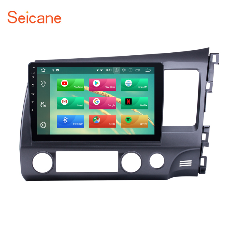 Seicane 10 1 Android 8 0 Car Radio Bluetooth font b GPS b font System for