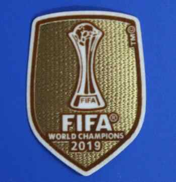 33a874faa 2019 Club World Cup patch Real Madrid shirt patch champion patch badges Hot  stamping armband