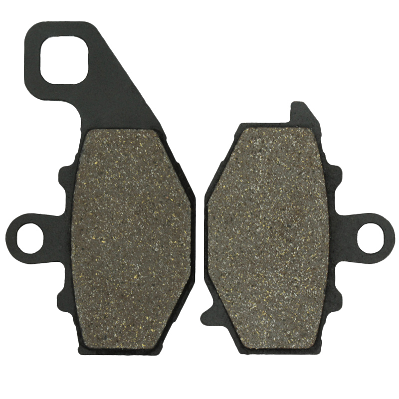 Cyleto Motorcycle Rear Brake Pads for KAWASAKI KLE 650 KLE650 Versys 07-14 Z 750 Z750 04-07 ZX-9R ZX9R 94-03 Z 1000 Z1000 03-06 starpad motorcycle kawasaki z750 z1000 07 after the brake pads brake pads gold wholesale versatility