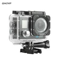 QIACHIP Sports Action Camera 1080p 4K Wifi Camera Waterproof 30M Mini Camcorder Underwater Cameras Video Camera