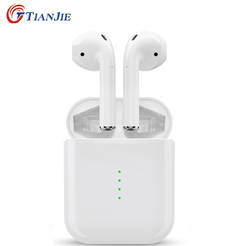 TianJie D'origine i10 TWS Bluetooth 5.0 Écouteur Touch control Sport casque avec micro Super bass Écouteur Pour Tous Les Téléphones Intelligents