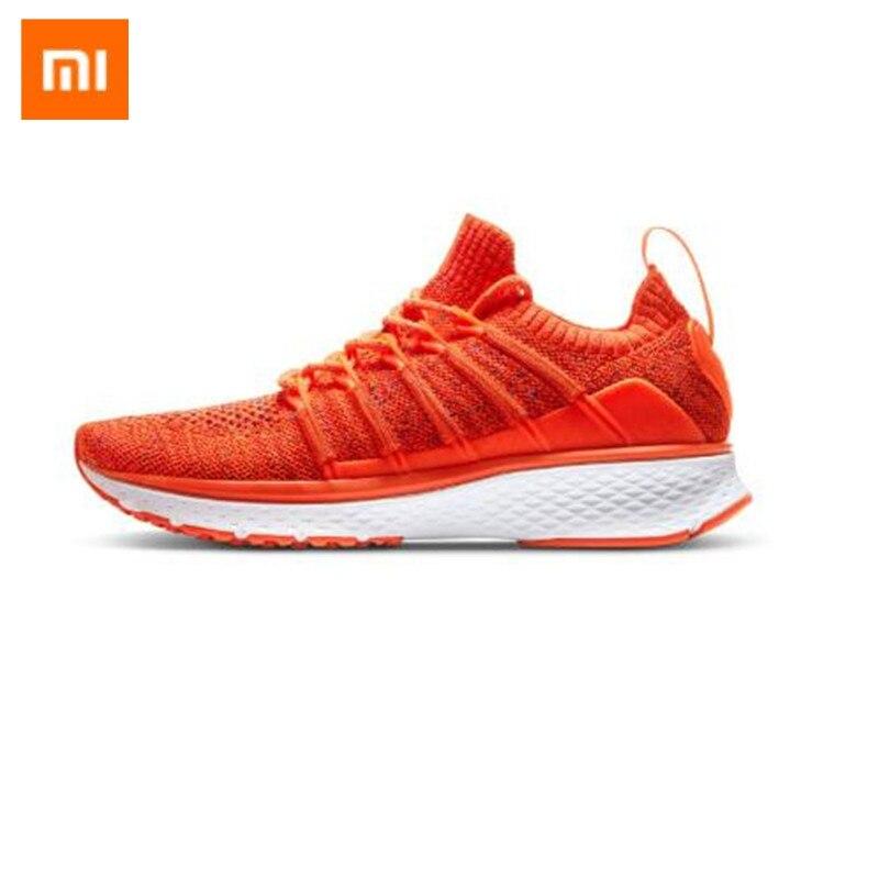 New Original Xiaomi Mijia 2 Women's Female Running Shoe Fishbone Lock Design Uni-Moulding Techinique Elastic Knitting Vamp