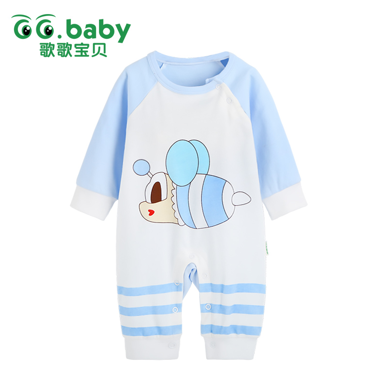 Baby Rompers Clothing Baby Boys Girls Character Cotton Long Sleeve Clothes Pajamas Overalls Baby Spring Autumn Jumpsuit Romper maggie s walker baby boys and girls clothes toddler pure cotton jumpsuit kids romper children spring autumn winter long sleeve