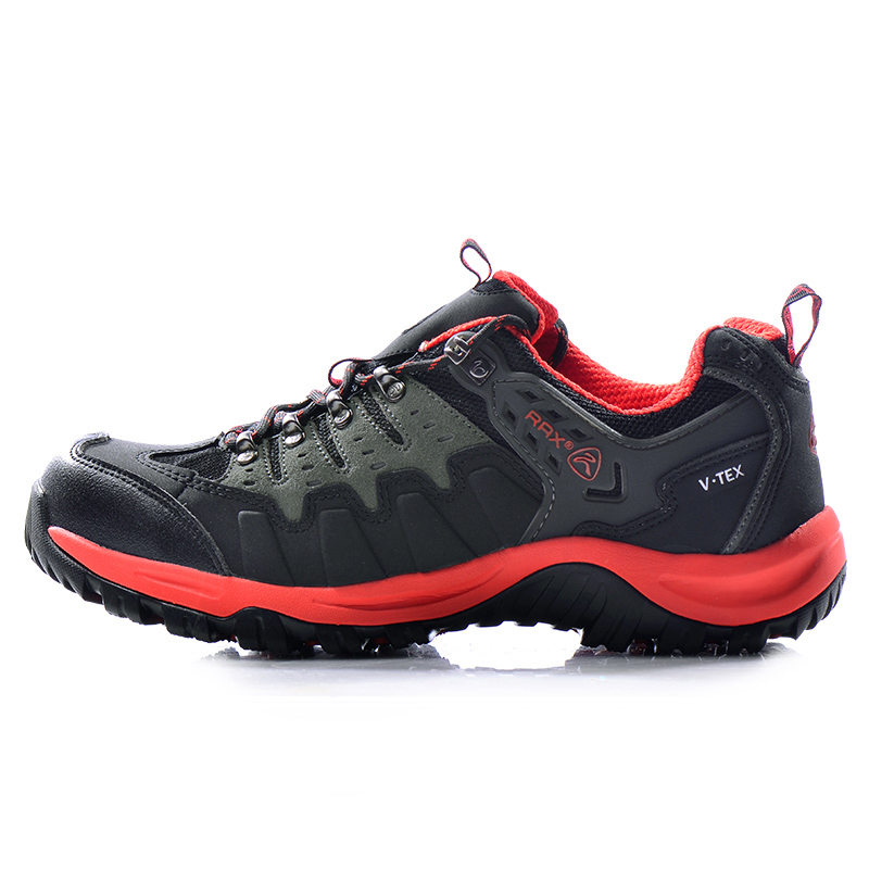 RAX Hiking Shoes Men Waterproof Outdoor Sports Sneakers for Men Anti-slip Trekking Shoes for Camping Breathable Mountain Walking rax camping