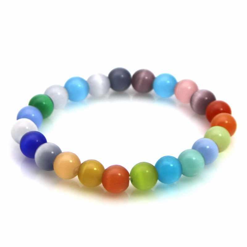 bracelet femme opale