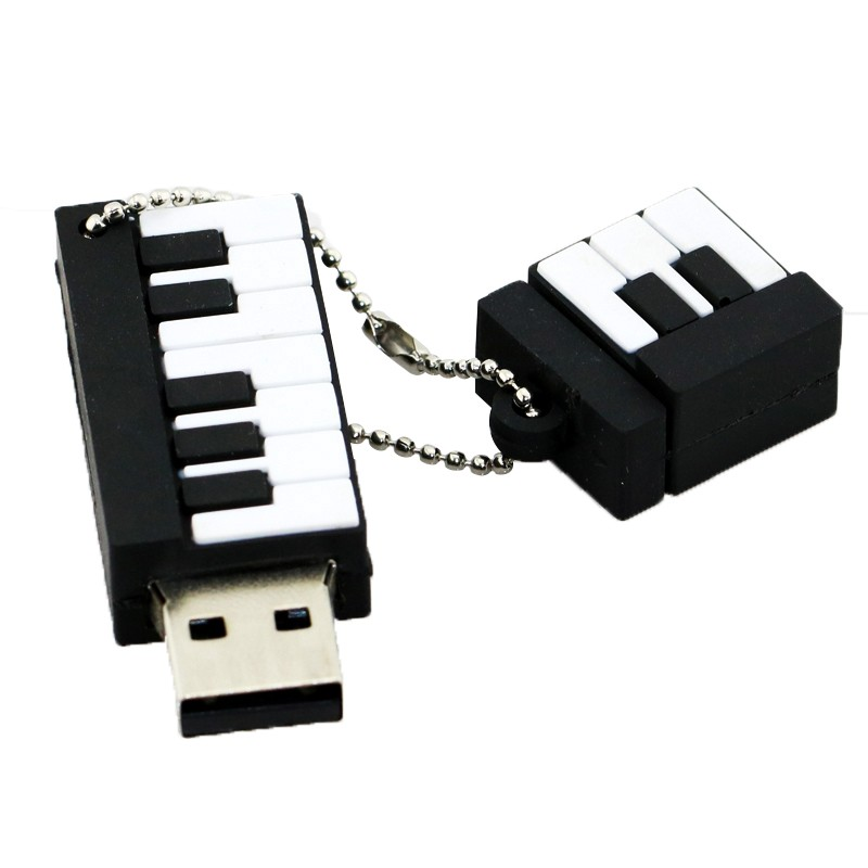 Pen Drive Cartoon Instruments Piano USB Flash Drive Söta Musiknoter - Extern lagring - Foto 4