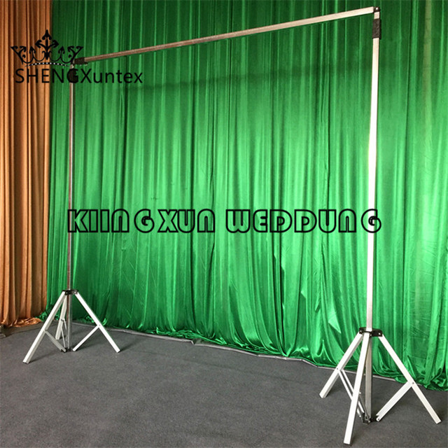 New Design Backdrop Stand \ Curtain Pipe Stent For Wedding And Party  Decoration