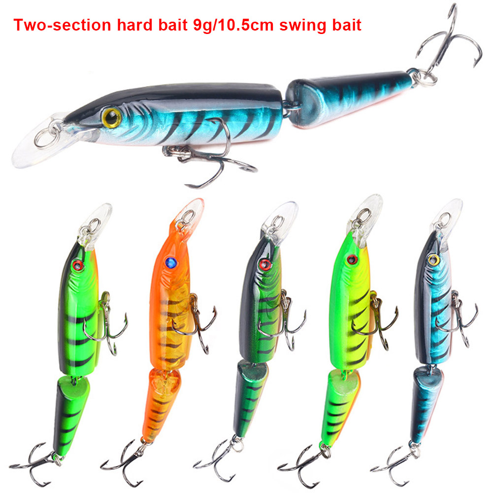 2019 HOT SALE Simulation Artificial Fishing Lure Bait 9g 10.5cm Hooks Accessories For Lake Sea ASD88
