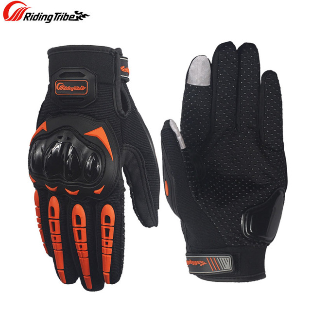 Motorcycle touch screen gloves motocross wearable sport full finger glove luvas moto Protective Gears gant moto racing gloves 3