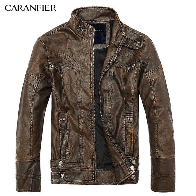 Mens Leather Jackets M-5XL 3
