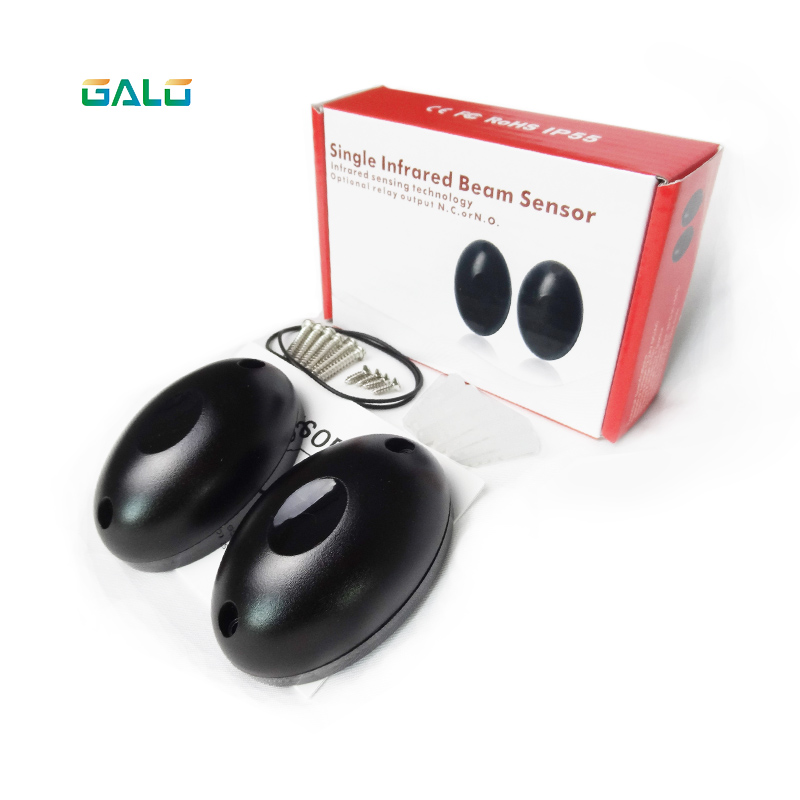 Galo Newest Waterproof Active Photoelectric Single Beam Infrared Sensor Barrier Detector for swing/sliding Gate Door Window 2pairs lot single infrared beam sensor indoor 20m outdoor 10m for gate door window sliding gate automation