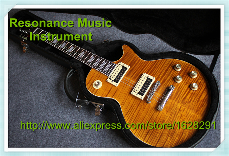 Top Selling Classic Model Slash Appetite Guitar G LP Standard Slash Signature Electric Guitar with Hardcase For Sale free hardcase lp jimmy page standard electric guitar in amber honey burst 101122