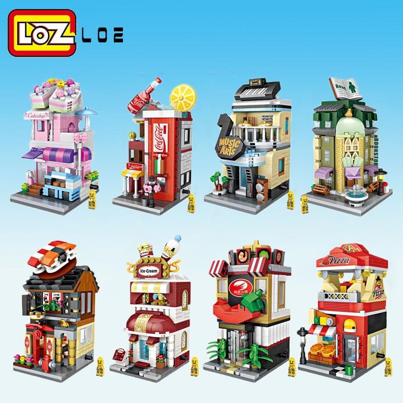 Искусственная картина с изображением города, кофейня, розничный магазин, архитектуры, модели и строительные викторины, Рождественская игру...