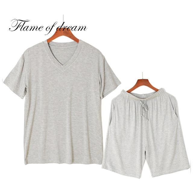 Pajamas for me men's pajam Modal Pajamas modal nightwear  men sleepwear pajama set  mens pyjama sets short sleeve