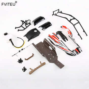 FVITEU Q-BAJA refitted kits 2 (for original baja with plastic roll cage) For 1/5 Rovan RC CAR PARTS - DISCOUNT ITEM  0% OFF All Category