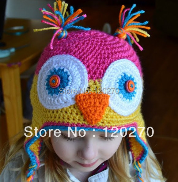 Free Shipping Crochet Pattern Baby Girls Cartoon Character Newborn