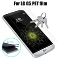 Para lg g5 screen protector película cobertura completa a prueba de arañazos guardia de protección suave para lg g5 revestimiento completo película del animal doméstico