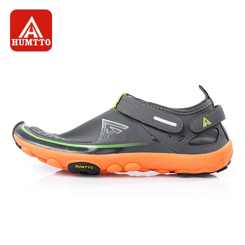 HUMTTO Men s Upstream Shoes Aqua Shoes Spring Summer Outdoor Camping Breathable Wearable Quick Dry Rubber