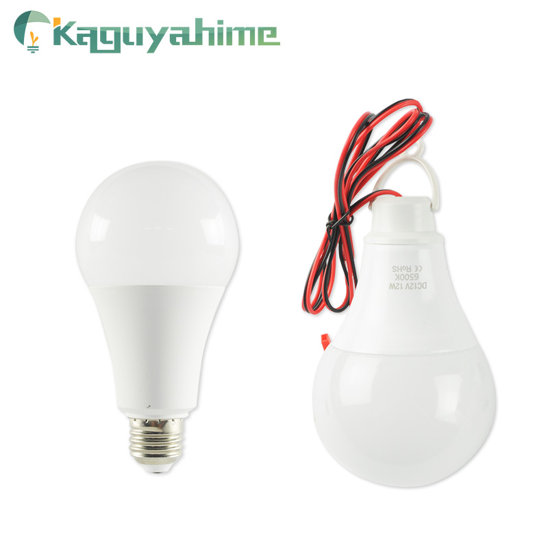 Kaguyhime <font><b>12V</b></font> Portable Clip/220V <font><b>E27</b></font> <font><b>LED</b></font> <font><b>Bulb</b></font> DC/AC Ring Hang Light Lamp 3W 7W 9W 12W 15W For Outdoor Camping Fishing Emergency image