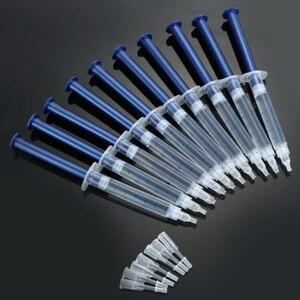 Image 2 - Hızlı kargo 100 adet/grup diş beyazlatma jeli karbamid peroksit 22%,35%,44% diş temizleme şırınga jel