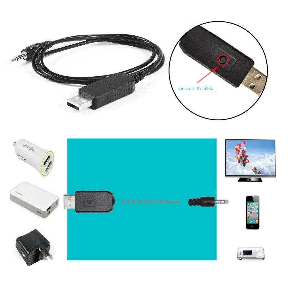 Universal Car Stereo Fm Audio Fm Transmitter 5v Usb