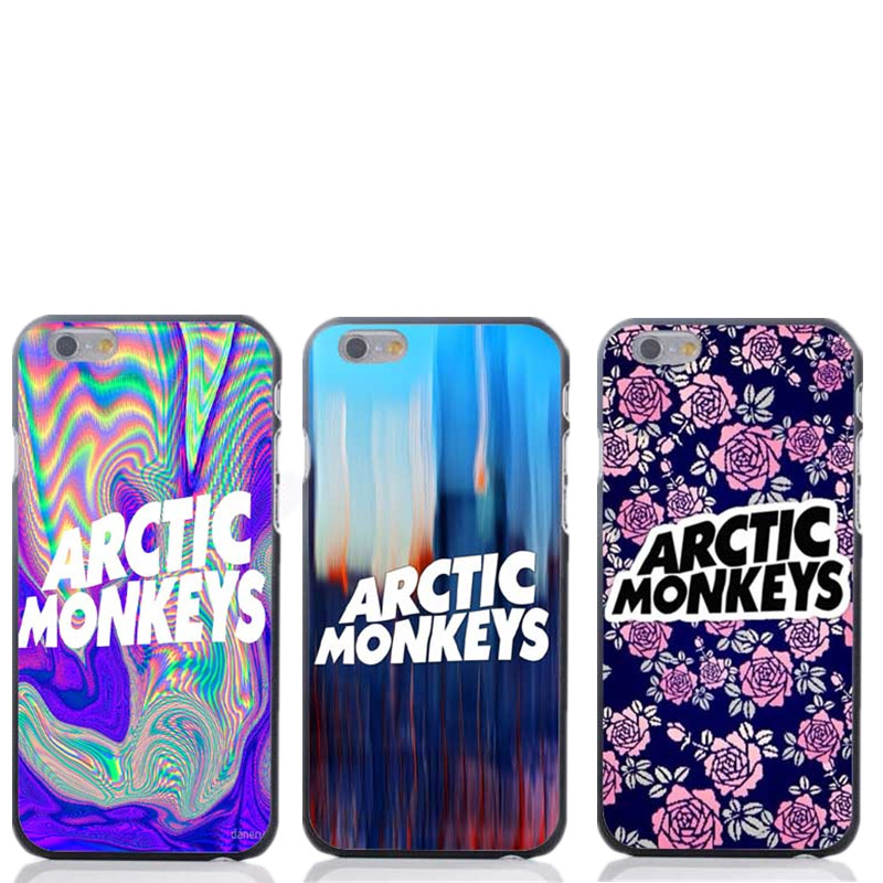 Psychedelic Arctic Monkeys Design for iPhone4 4s 5 5s 5c 5g 6 6s 4.7/5.5inch phone cover free shipping