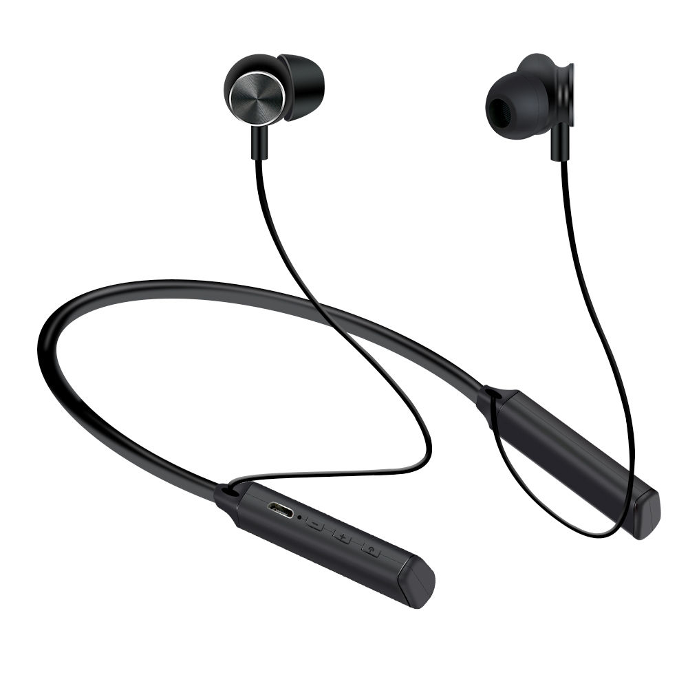 Neckband Wireless Headphones Bluetooth V4.1 Earphone For Running Noise Cancelling Earbuds Built-in Mic Magnetic Stereo Headsets