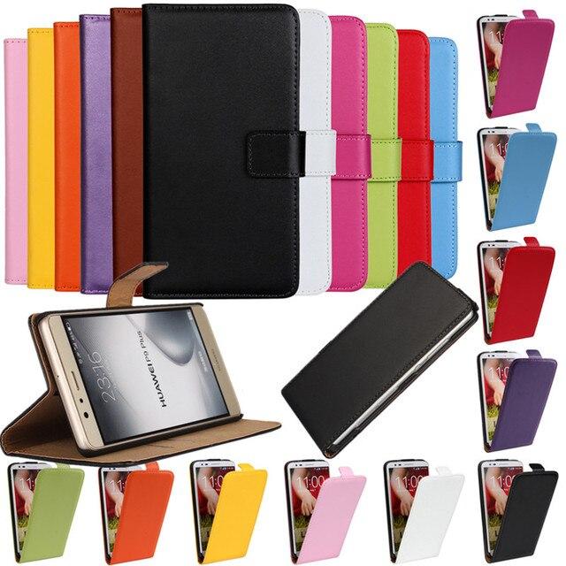 Case Cover For Huawei P8 P8Lite P9 P9Lite P7 P6 Flip Leather Mobile Phone Bag Accessory Fundas For Huawei P9 Plus P8 Lite Coque