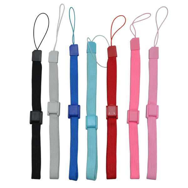 2000pcs lots Adjustable Wrist Strap Hand Strap Lanyard For Wii WiiU remote controller PS3 move PSV