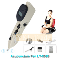 Electric Acupuncture Meridian Pen Electronic Acupuncture Pen Point Detector Acupressure Massage Pain Therapy Face Care Health