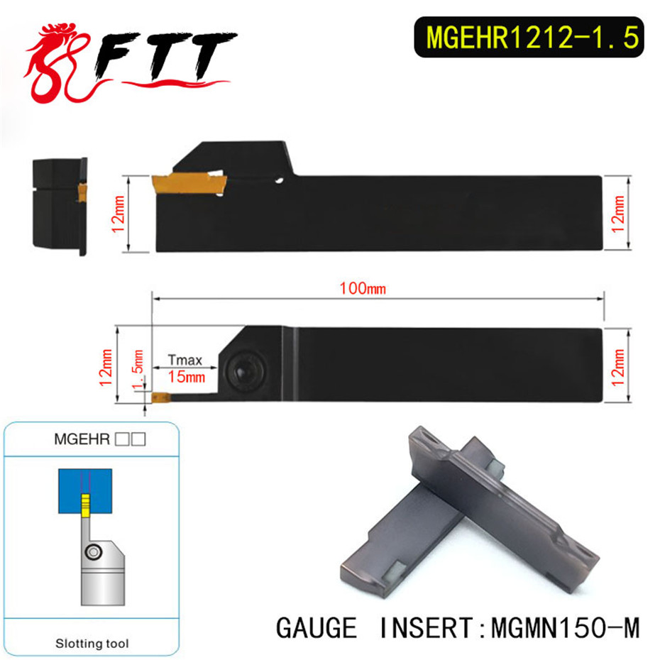 1P MGMN150-M Free Shipping MGEHR1010-1.5 CNC lathe Grooving Turning Toolholder