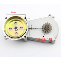 For MINI Motocross Small Car Two Stroke 49CC Motorcycle Sport Utility Vehicle Transmission Gearbox Front Sprocket