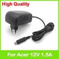 12 В 1.5A AC адаптер питания Adp-18tb AP.01801.002 AP.01807.001 для Acer Iconia Tab A700 A701 A510 A511 tablet зарядное ЕС plug