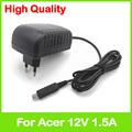 12V 1.5A AC power adapter ADP-18TB A AP.01801.002 AP.01807.001 for Acer Iconia Tab A700 A701 A510 A511 tablet charger EU plug