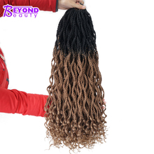 Beyond Beauty Goddess Box Braids Curly Crochet Hair Extensio