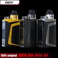 Originale iJoy RDTA Box Mini Kit 100 W Mod Built-In Li-Po 2600 mAh batteria 6 ML e-succo di SCATOLA serbatoio MOD Vape Sigaretta Elettronica Kit