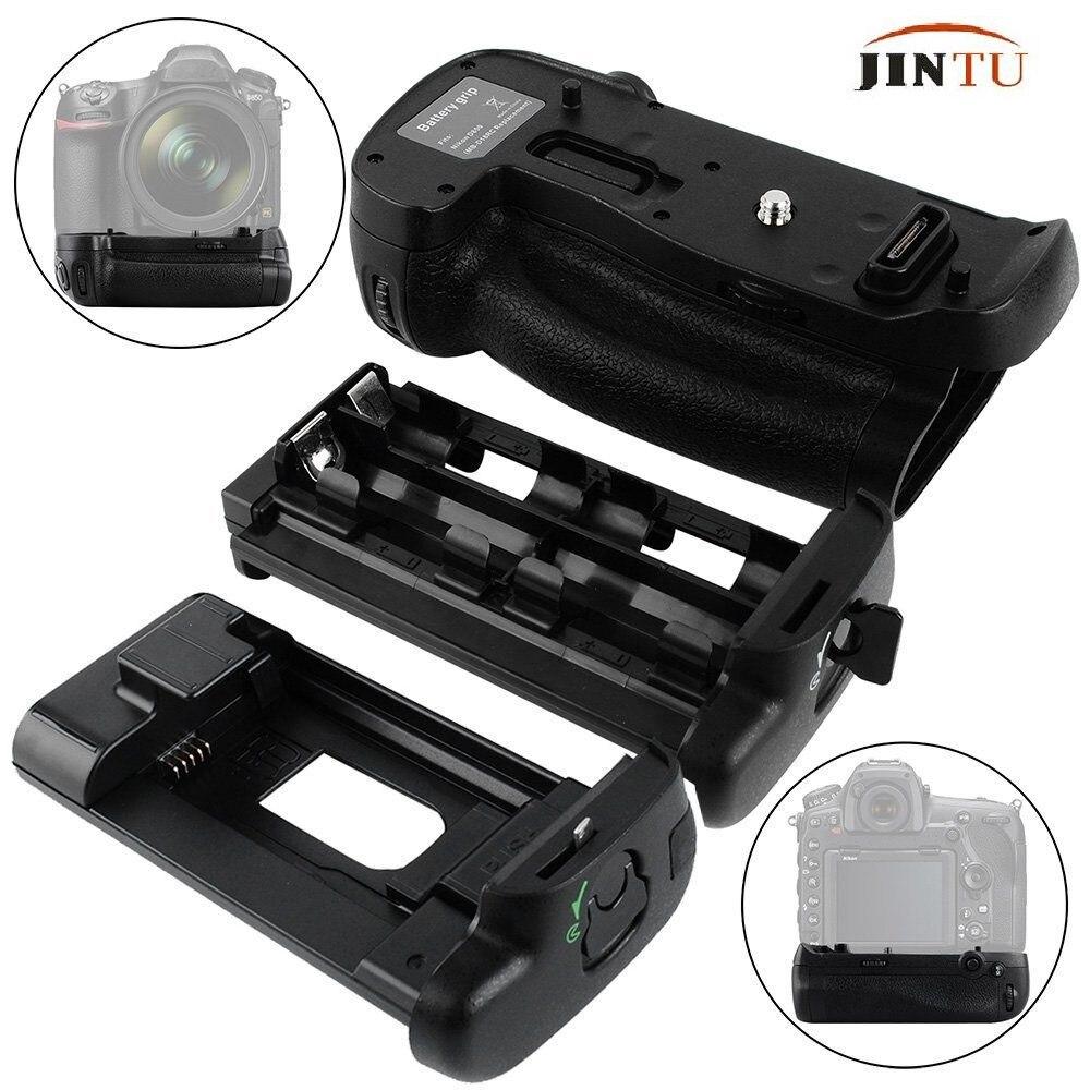 JINTU Multi Power Battery Grip MB-D18 Replacement for Nikon D850 DSLR Cameras EN-EL15A EN-EL18B