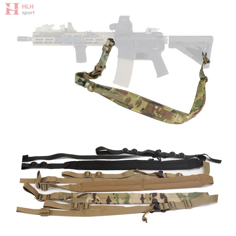 Multi-function Tactical Hunting Waist Belt With Buckle Gun 2 Point Sling Pistol Belt Tactical Molle Belt