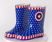 Бесплатная доставка Детская обувь дождь Сапоги и ботинки для девочек Обувь для мальчиков детская обувь детские резиновые сапоги