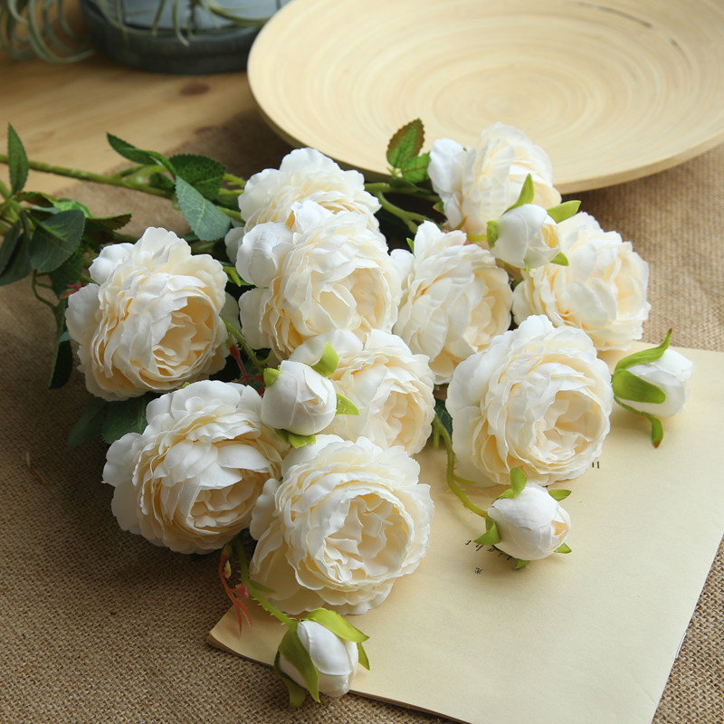 peony artificial roses flowers (1)